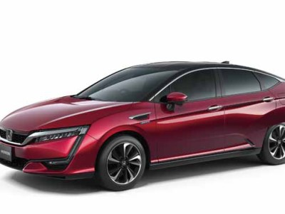 HONDA'S ALL-NEW FUEL CELL VEHICLE