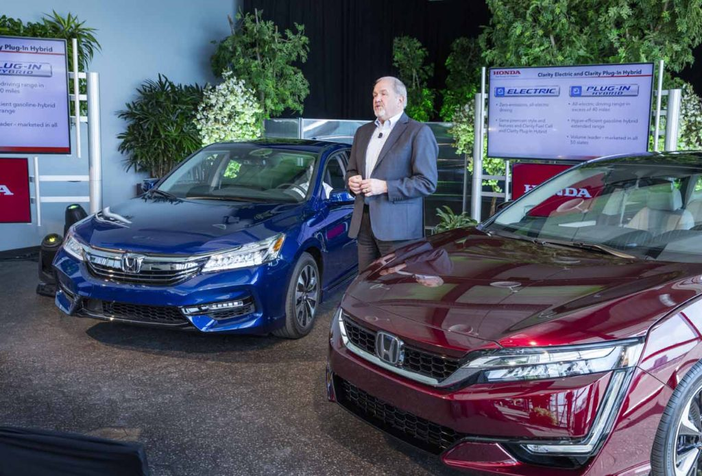 2017 Honda Accord Hybrid Reveal